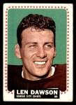 1964 Topps #96  Len Dawson  Front Thumbnail