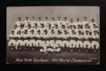 1947 Exhibits   Yankees Team Front Thumbnail