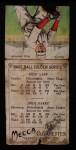 1911 T201 Mecca  Jack Barry / John Lapp  Back Thumbnail