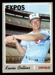1970 Topps #707  Kevin Collins  Front Thumbnail