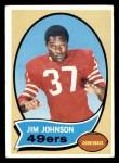 1970 Topps #245  Jim Johnson  Front Thumbnail