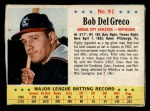 1963 Post #91  Bobby Del Greco  Front Thumbnail