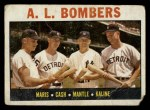 1964 Topps #331   -  Roger Maris / Norm Cash / Mickey Mantle / Al Kaline AL Bombers Front Thumbnail