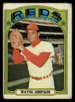 1972 Topps #762  Wayne Simpson  Front Thumbnail