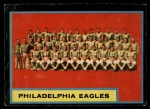 1962 Topps #126   Eagles Team Front Thumbnail