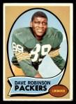 1970 Topps #102  Dave Robinson  Front Thumbnail