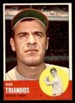 1963 Topps #475  Gus Triandos  Front Thumbnail