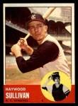 1963 Topps #359  Haywood Sullivan  Front Thumbnail