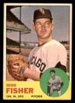 1963 Topps #223  Eddie Fisher  Front Thumbnail