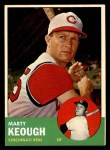 1963 Topps #21 *WHI* Marty Keough  Front Thumbnail