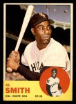 1963 Topps #16  Al Smith  Front Thumbnail