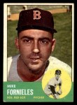 1963 Topps #28 ^xSTR^ Mike Fornieles  Front Thumbnail