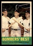 1963 Topps #173   -  Tom Tresh / Mickey Mantle / Bobby Richardson Bomber's Best Front Thumbnail