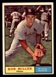 1961 Topps #314  Bob Miller  Front Thumbnail