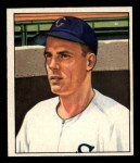1950 Bowman #184 CPR Randy Gumpert  Front Thumbnail