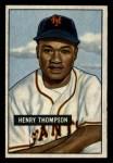 1951 Bowman #89  Henry Thompspn  Front Thumbnail