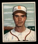 1950 Bowman #252 CPR Billy DeMars  Front Thumbnail