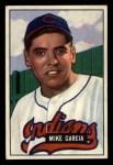 1951 Bowman #150  Mike Garcia  Front Thumbnail