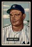 1951 Bowman #50  Johnny Mize  Front Thumbnail