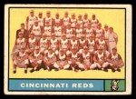 1961 Topps #249 NCH  Reds Team Front Thumbnail