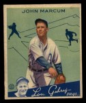 1934 Goudey #69  John Marcum  Front Thumbnail