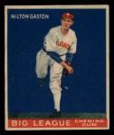 1933 Goudey #65  Milt Gaston  Front Thumbnail