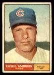 1961 Topps #88  Richie Ashburn  Front Thumbnail