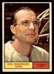 1961 Topps #282  Faye Throneberry  Front Thumbnail