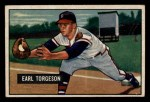 1951 Bowman #99  Earl Torgeson  Front Thumbnail