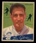 1934 Goudey #55  Ed Holley  Front Thumbnail