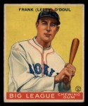 1933 Goudey #58  Lefty ODoul  Front Thumbnail