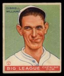 1933 Goudey #82  Dib Williams  Front Thumbnail