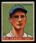 1933 Goudey #84  Glenn Spencer  Front Thumbnail