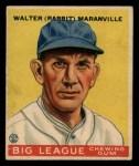 1933 Goudey #117  Rabbit Maranville  Front Thumbnail