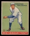 1933 Goudey #145  Rube Walberg  Front Thumbnail