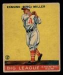 1933 Goudey #59  Bing Miller  Front Thumbnail