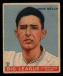 1933 Goudey #93  John Welch  Front Thumbnail