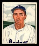 1950 Bowman #194 CPR Billy Cox  Front Thumbnail