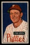 1951 Bowman #76  Stan Lopata  Front Thumbnail