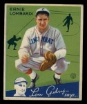 1934 Goudey #35  Ernie Lombardi  Front Thumbnail