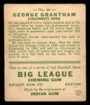 1933 Goudey #66  George Grantham  Back Thumbnail