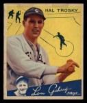 1934 Goudey #76  Hal Troskey  Front Thumbnail