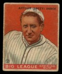 1933 Goudey #2  Dazzy Vance  Front Thumbnail