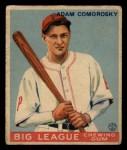 1933 Goudey #77  Adam Comorosky  Front Thumbnail