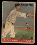 1933 Goudey #24  Horace Ford  Front Thumbnail