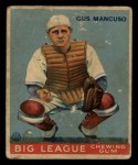 1933 Goudey #41  Gus Mancuso  Front Thumbnail