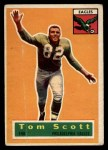 1956 Topps #112  Tom Scott  Front Thumbnail