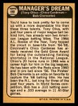 1968 Topps #480   -  Tony Oliva / Leo 'Chico' Cardenas / Roberto Bob Clemente Manager's Dream Back Thumbnail