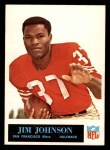 1965 Philadelphia #176  Jimmy Johnson  Front Thumbnail