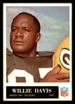 1965 Philadelphia #73  Willie Davis  Front Thumbnail